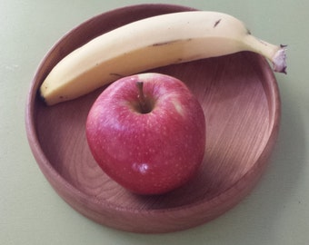 Cherry low sided bowl