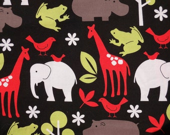 MICHAEL MILLER ** ZOOLOGY ** Boutique Designer Fabric for quilting, sewing, etc.