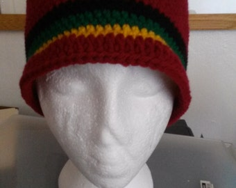 Burgundy Rasta - Hat