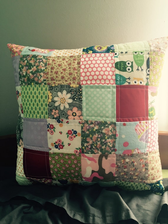 Items Similar To Custom Made Quilted Memory Pillow Cover