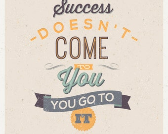 success doesn't come  Quote Clipart, Digital Download ,Quotes Scrapbooking, Supplies, Vectors files ,Personal Use