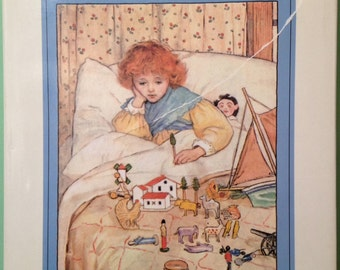 A Child's Garden of Verses, Robert Lewis Stevenson, 1989 hardbound with dust cover9