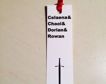Throne of Glass bookmark