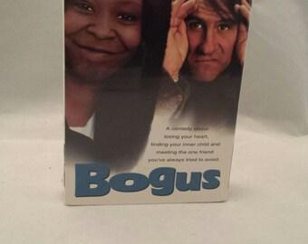 Bogus(1996); VHS; never opened; sealed; Whoopi Goldberg; Gerard Depardieu
