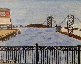 San Francisco (SF) Bay Bridge Painting