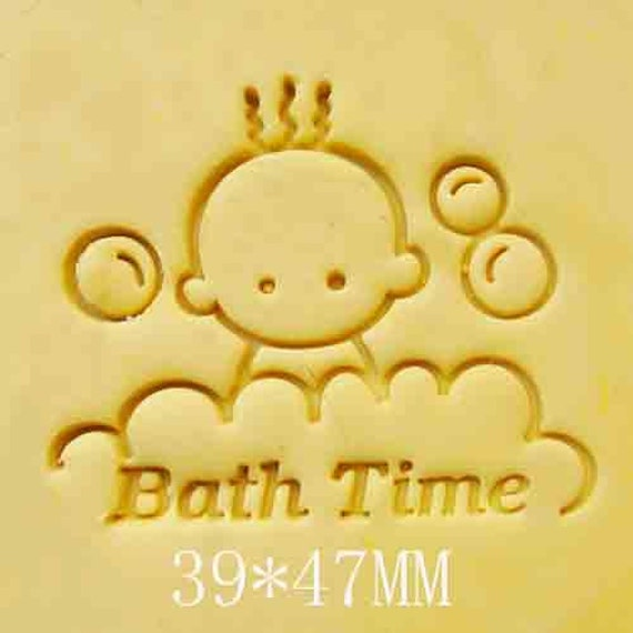 852 Bathtub Data Base Emails Contact Us Hk Mail: Baby Bath Time Resin Seal Stamp Soap Stamps Handmade Soap