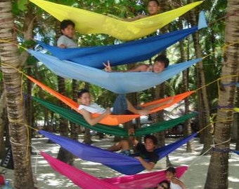 Lightweight Easy to Use Outdoor Colorful Hammocks - Made in the Philippines