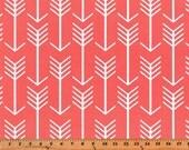 Premier Prints Arrow in Coral Home Decor fabric, 1 yard