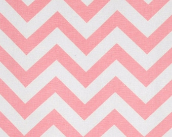 Premier Prints Fabric, Upholstery Fabric, Zig Zag, Chevron, Nursery Fabric, Baby Pink, Pink Fabric, 7 oz Cotton, Home Decor, Geometric