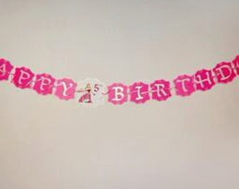 Sleeping Beauty Birthday Banner,Sleeping Beauty Party Decoration,Sleeping Beauty Personalized Banner,Princess Aurora Decorations, 8ft.Banner