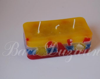hand made candle.Candles.Handmade candles.Christmas candle.Decor home