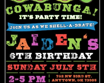 Let's shell-a-brate TMNT