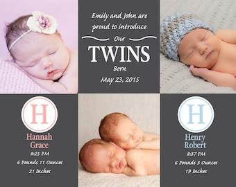 Three Frame Twin Announcement
