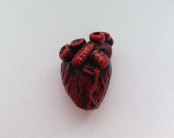 Anatomical Human Heart Charm