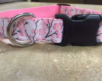 Cherry Blossom 1 inch Collar