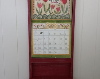 "Calendar Holder ""The Kim"" (13 1/2"" width x 24"" height calendar fits opening)"