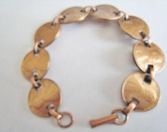 Copper Pennies Bracelet