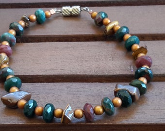 GoldN Brown Tiger's Eye Bracelet