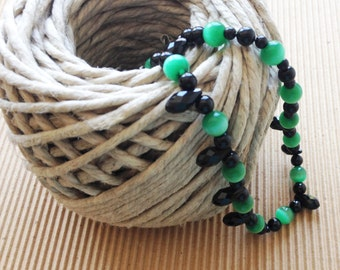 Black and Green Delight