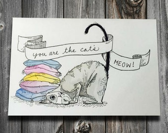 You are the cat's meow!