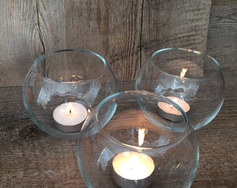 Round Tealight Candle Holders