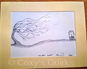 Its a bit Windy! A limited edition print