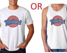 Tune Squad T Shirt or Tank Top Space Jam Michael Jordan Hipster jersey