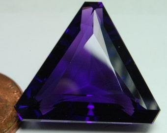 Huge purple stone