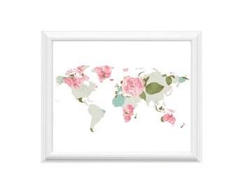 10x8 Art Print | World of Roses | Wall Art | 14x11 Print