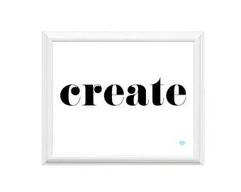 Create Print   10x8 Art Print   Create   Wall Art   14x11 Print