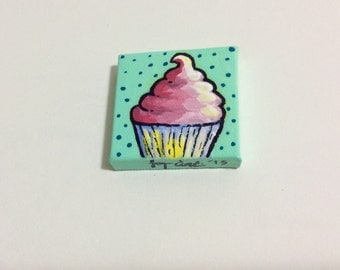 Little Cupcake Painting