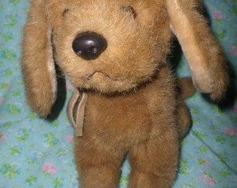 Vintage Russ Dog plush Puddles 1980 s