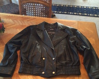 Vintage wilsons leather size medium