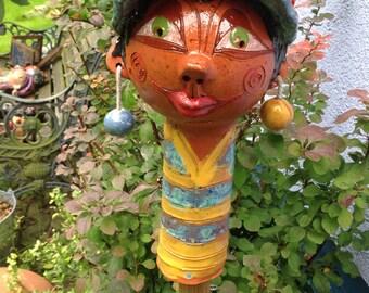 BORYNKA SCHELMI, sculpture, Garden ceramics