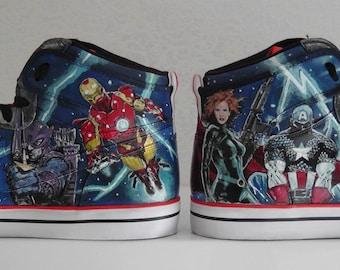 Nike Avengers Custom sneakers / trainers Hand painted