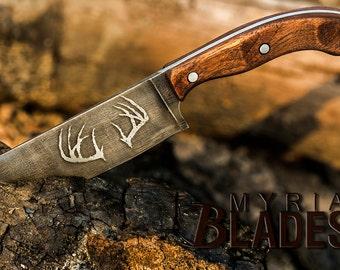 Custom Skinner Knife, 1095 High Carbon Steel