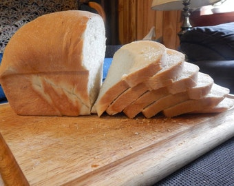 Traditional Homemade White Bread