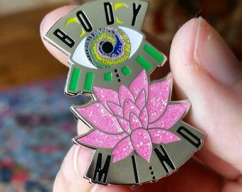 Body and Mind Pin