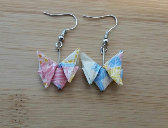 how to make a small origami butterfly