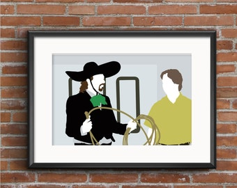 Eastbound & Down Poster - Kenny and Stevie Print