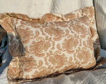 Romantic Paisley Pillow