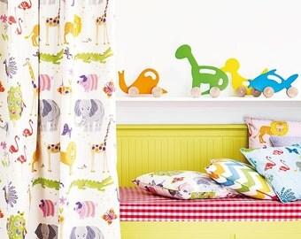2 Yards-Jane Churchill WILD THINGS Fabric for Nursery/Children/Bedroom