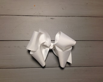 """Boutique style hair bow 6"""" wide"""