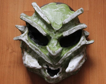 Insect Mask | Paper Mache Mask | Costume