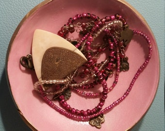 PINK COLLECTION Medium Sized Jewelry Dish