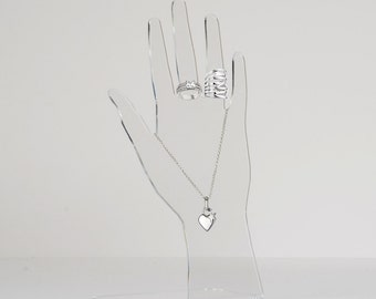 Acrylic Jewellery Display Hands | Premium acrylic | Made in the UK