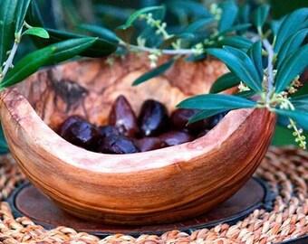 Olive wood nut Bowl