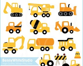 Vehicles Clip Art. For Personal and Small Commercial Use. B-0011.