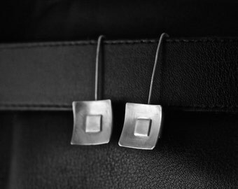 UNIQUE LIGHT WEIGHT Sterling Silver Earrings