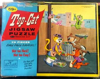 1961 Hanna Barbera Top Cat Jugsaw Puzzle